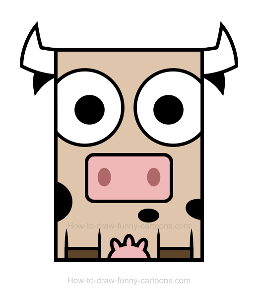 Cow clipart 3