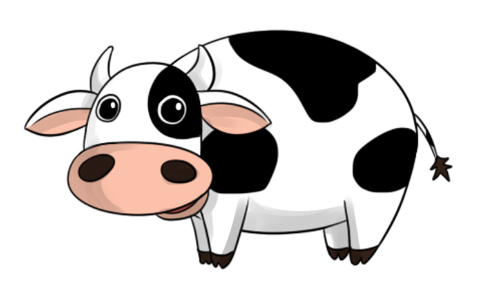 Cow clipart 5