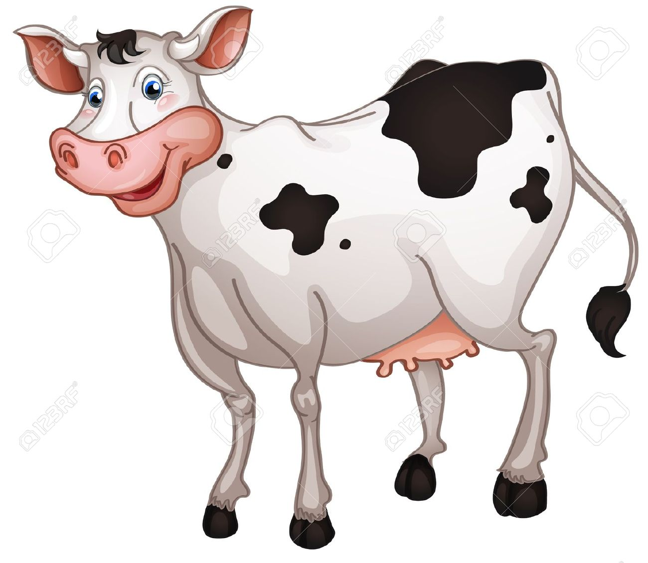 Cow top cattle clip art free clipart image