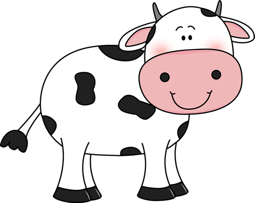 Cow top cattle clipart free image