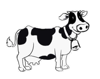 Cute cow clipart free images clipartandscrap