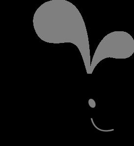 Cute whale clip art at vector clip art