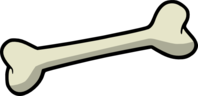 Dog bone outline dog bone clip art at vector clip art