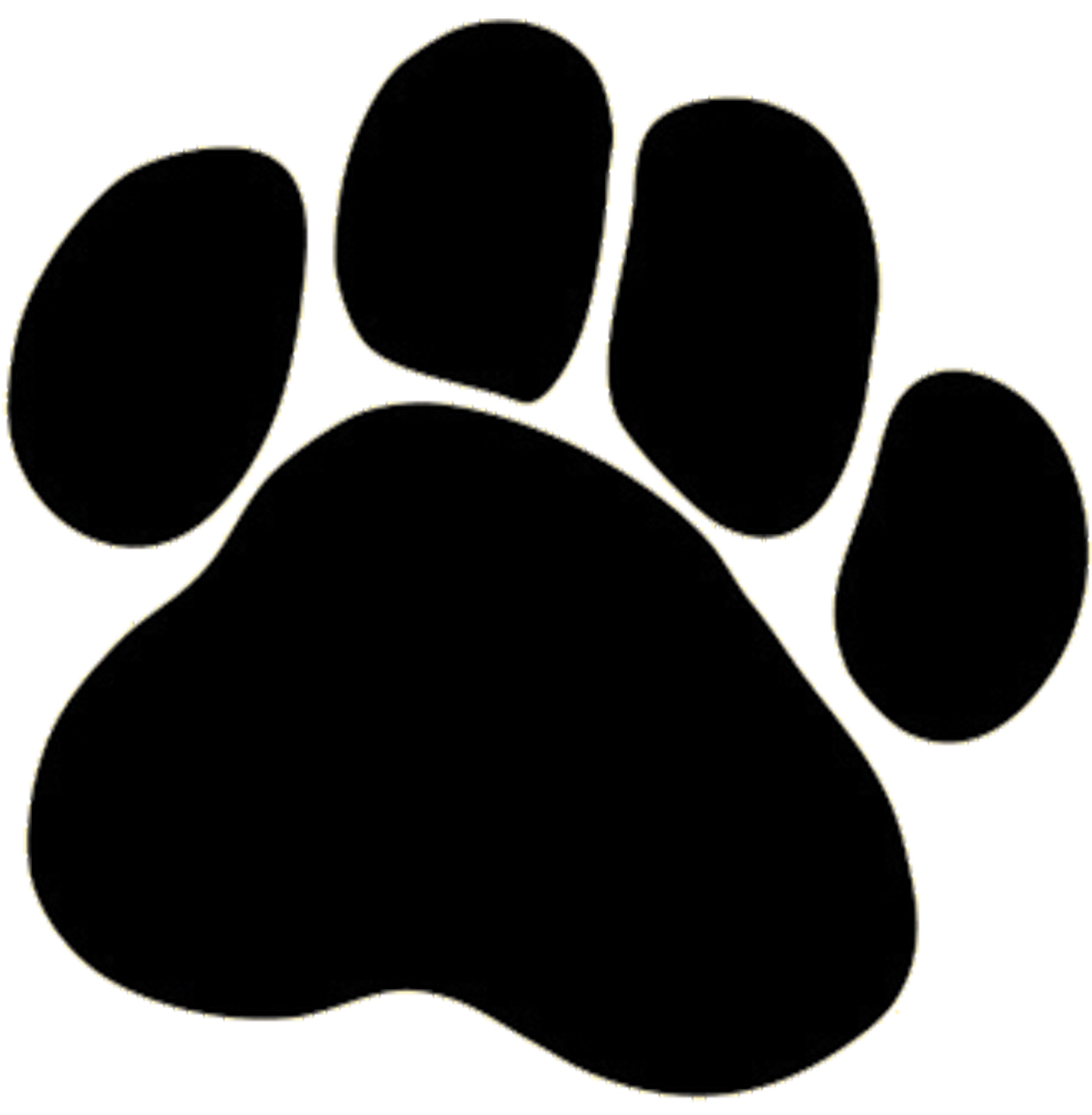 Dog paw border clipart free images clipartpost