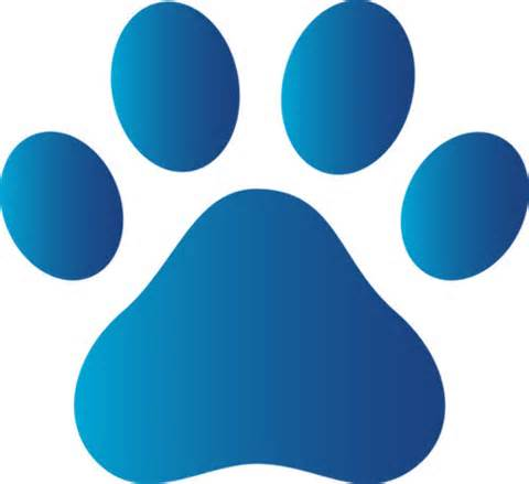 Dog paw clip art free free clipart images