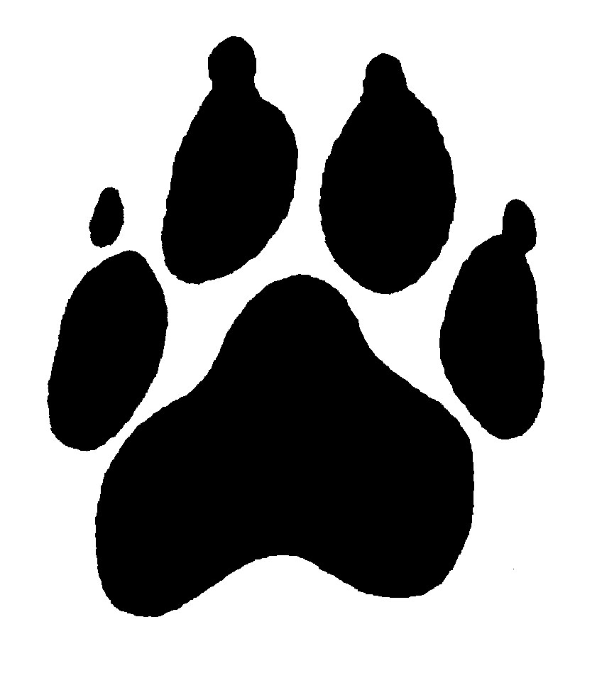 Dog paw clipart 2