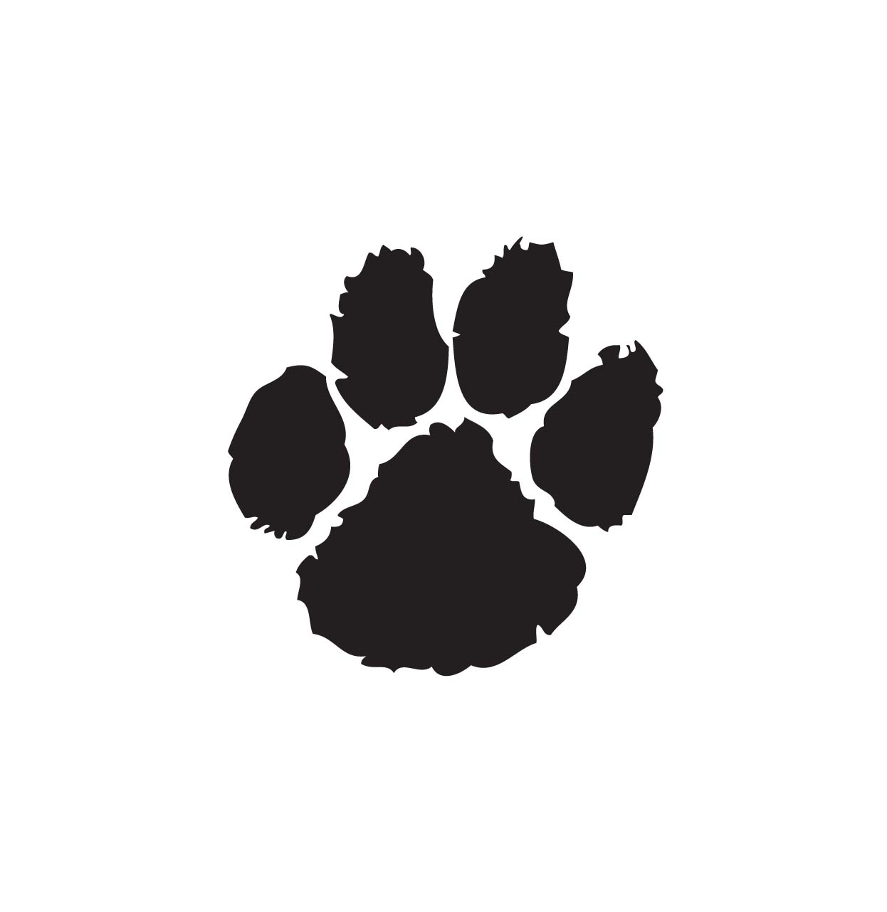 Dog paw clipart 7 clipart