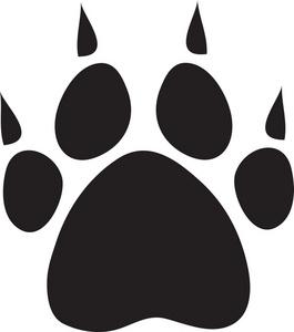 Dog paw free paw clipart image 3 17 dog