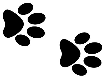 Dog paw print clipart free download clip art clipartpost