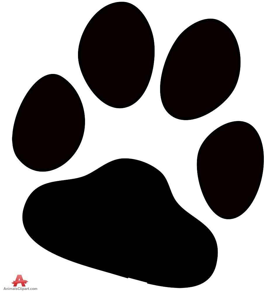 Dog paw print free clipart design download clipartpost
