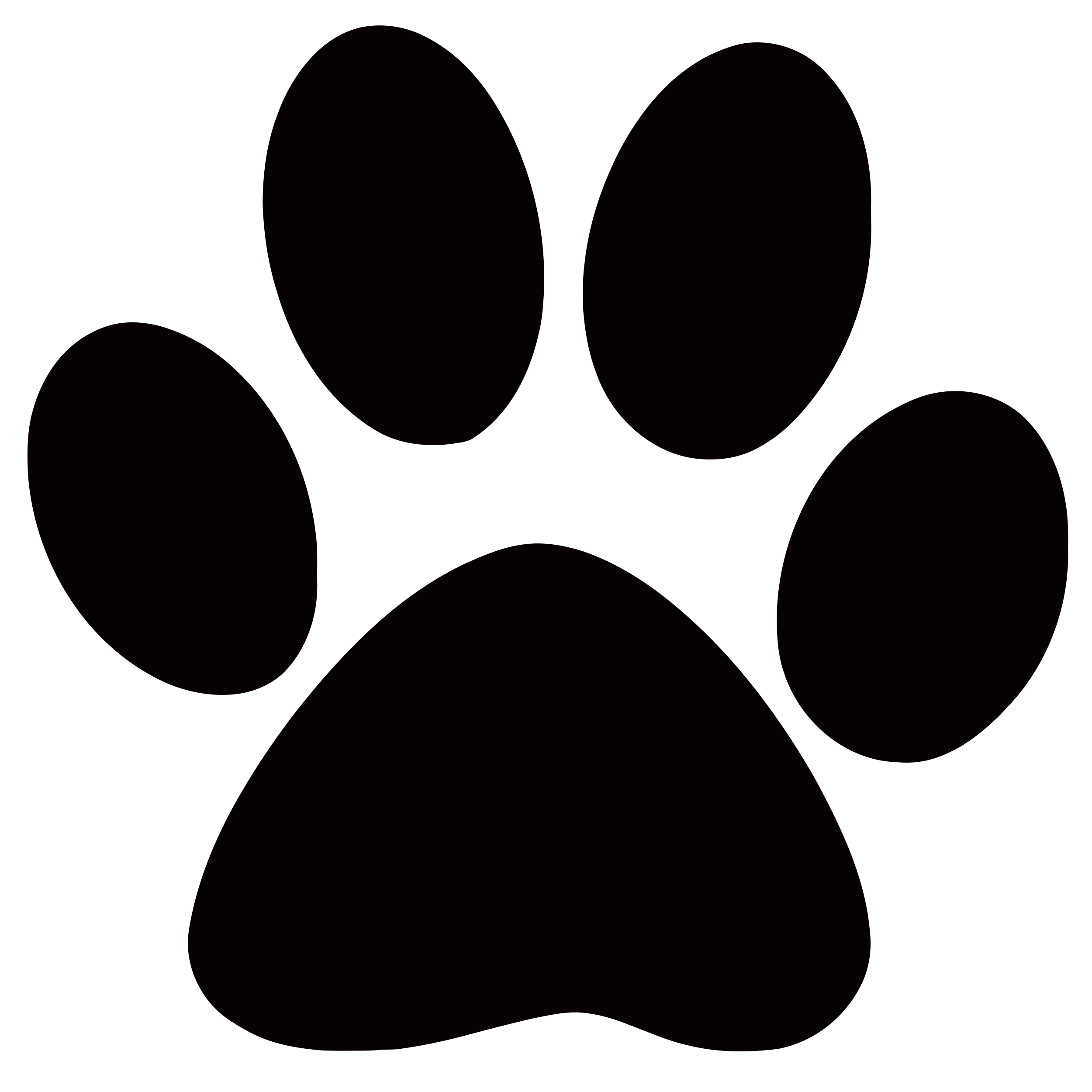 Dog paw print free download clip art on