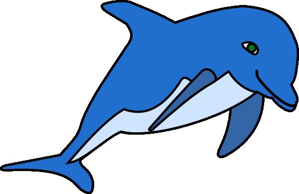 Dolphin clipart 6