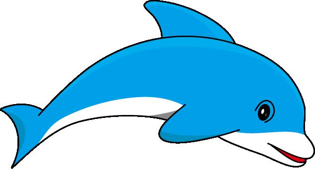 Dolphin clipart 8