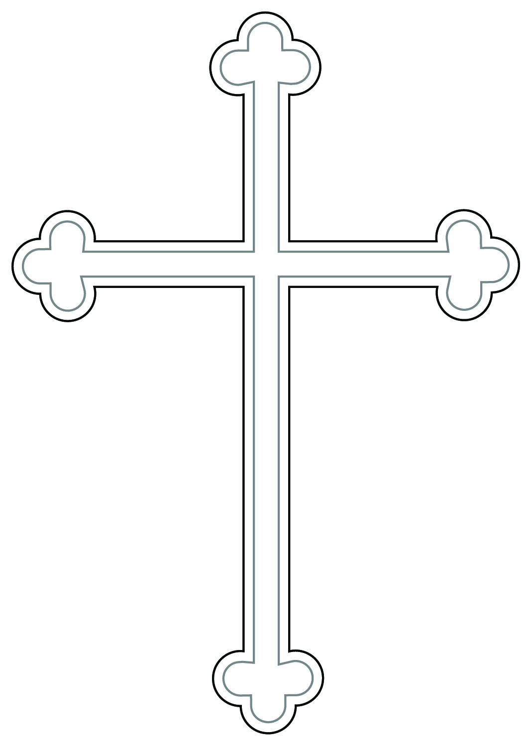 Dove and cross clipart free images 2