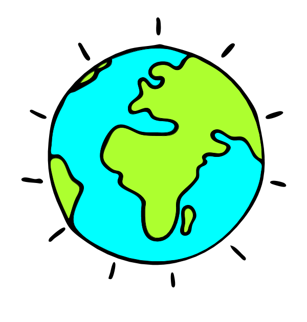 Earth animated globe clipart free images clipartpost