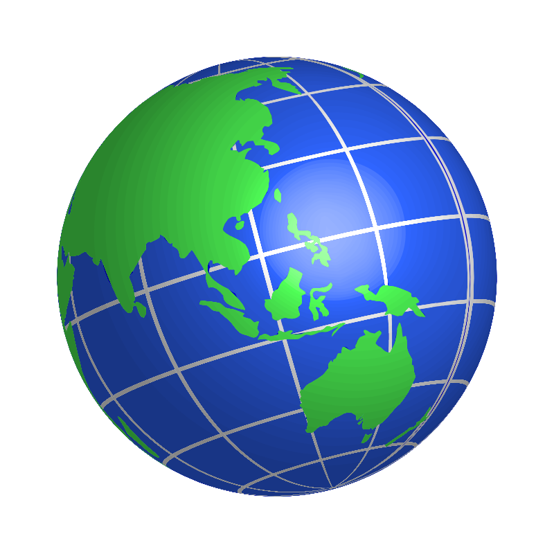 Earth globe clip art free clipart images 2