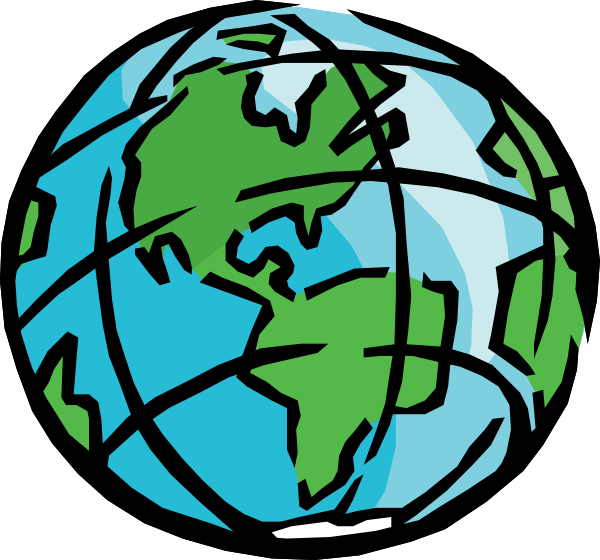 Earth globe clip art free clipart images 5 clipartbarn