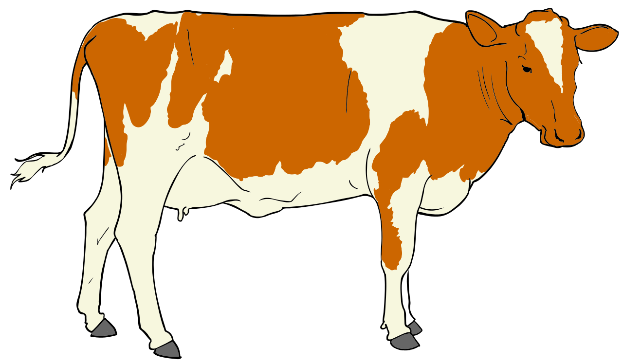 File cow clipart svg mediamons