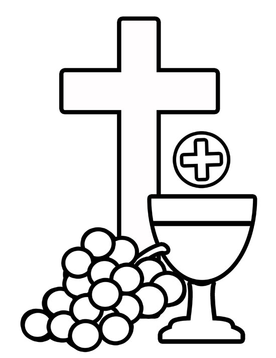 First communion catholic firstmunion cross clip art free