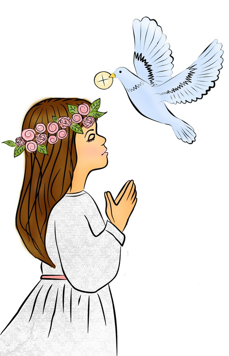 First communion first holymunion clipart
