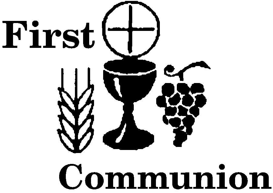 First communion firstmunion clip art 2 on holy eucharist