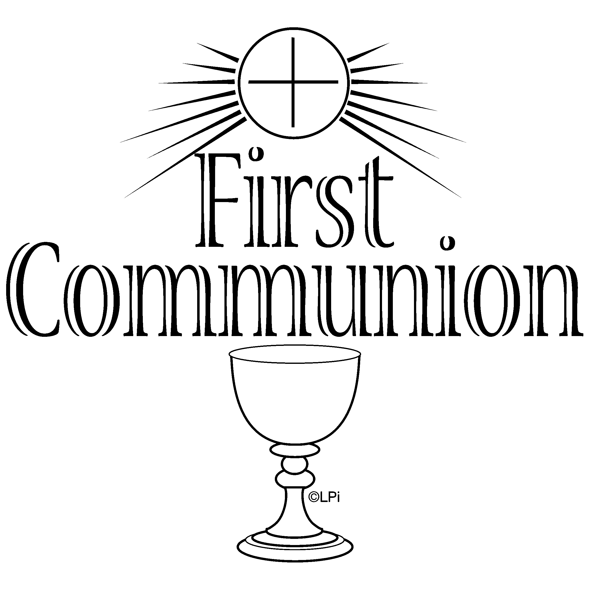 First communion firstmunion clip art clipart