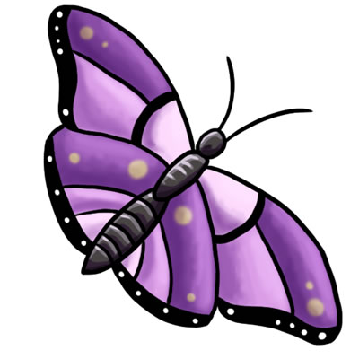 Free butterfly clip art drawings andlorful images 2