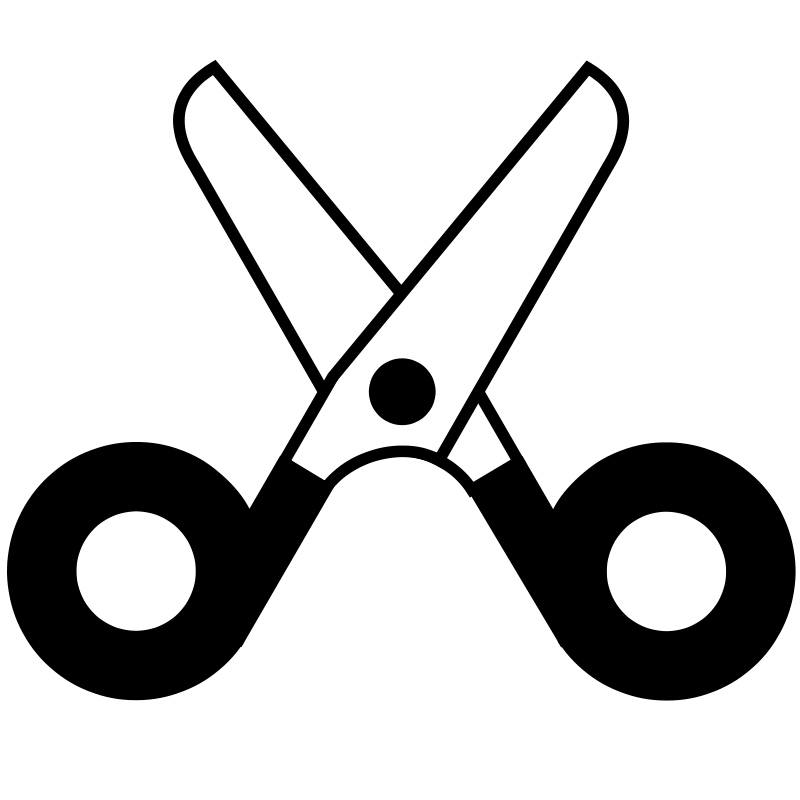 Free clip art scissors clipart 4