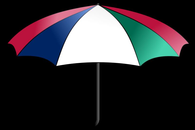 Free clipart umbrella colorful bnielsen