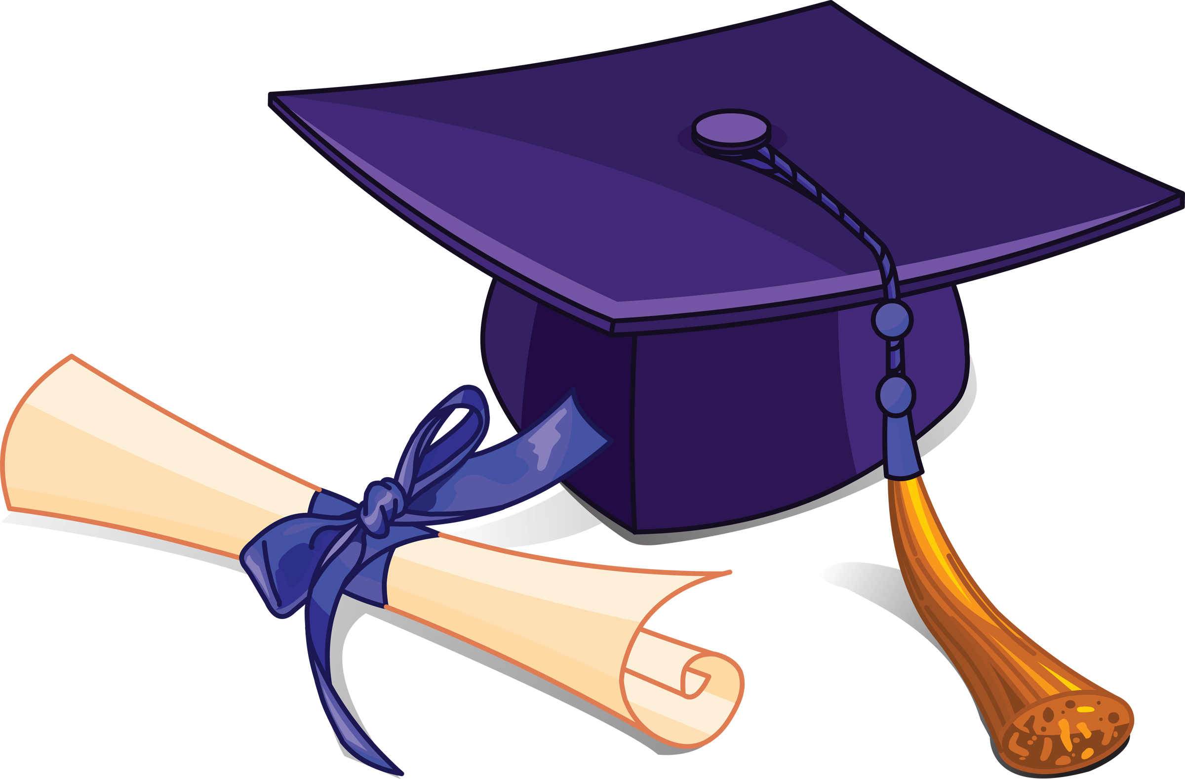 Free graduation clipart pictures