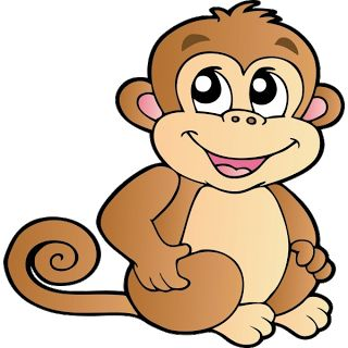 Free monkey clip art images cute baby monkeys dey all axed for