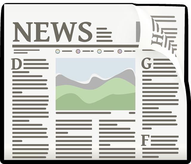 Free newspaper clip art