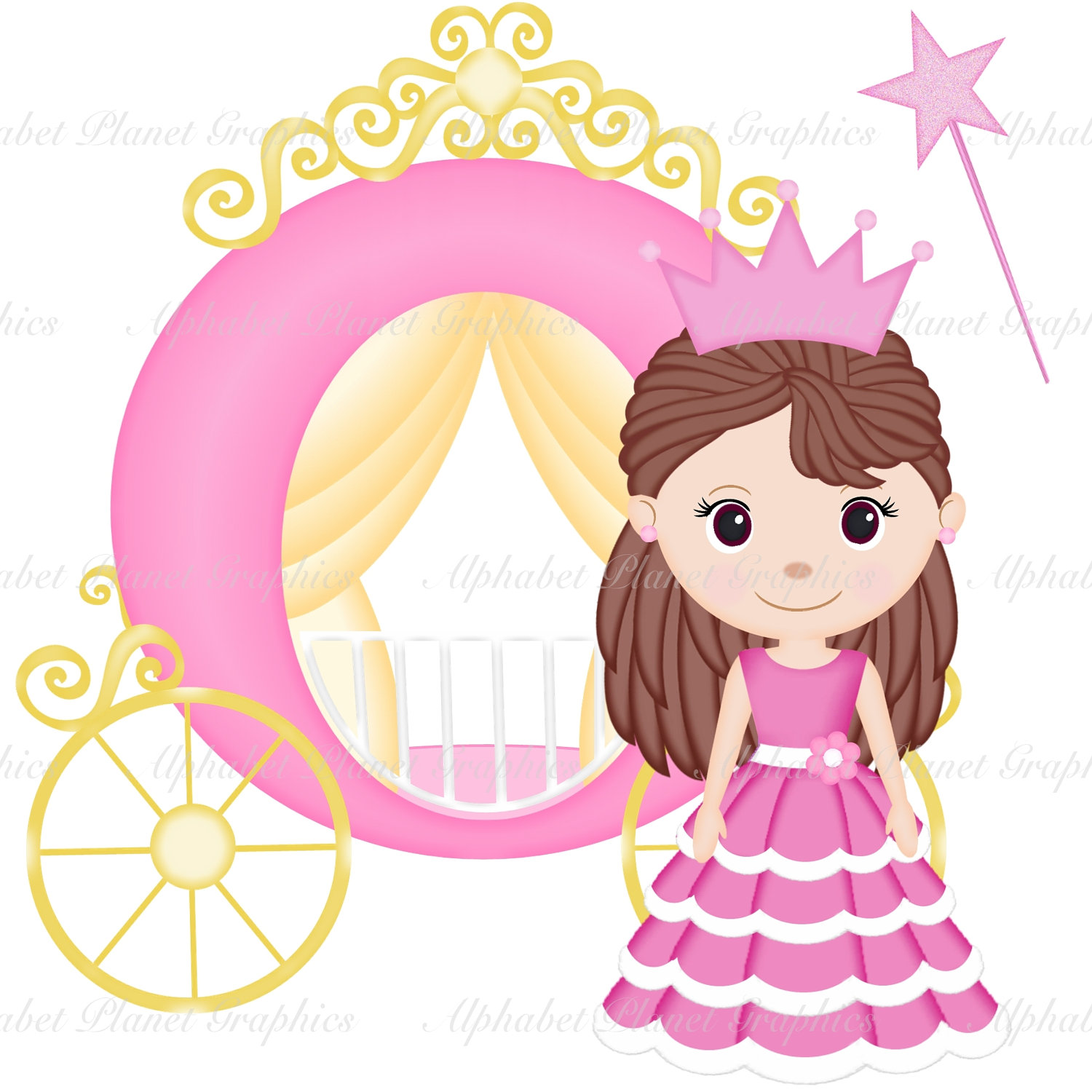 Free princess clipart the cliparts 2