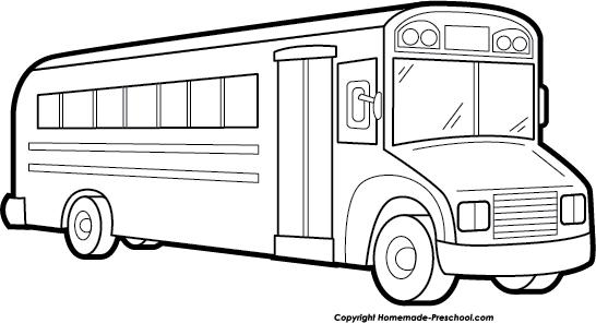 Free school bus clipart 4