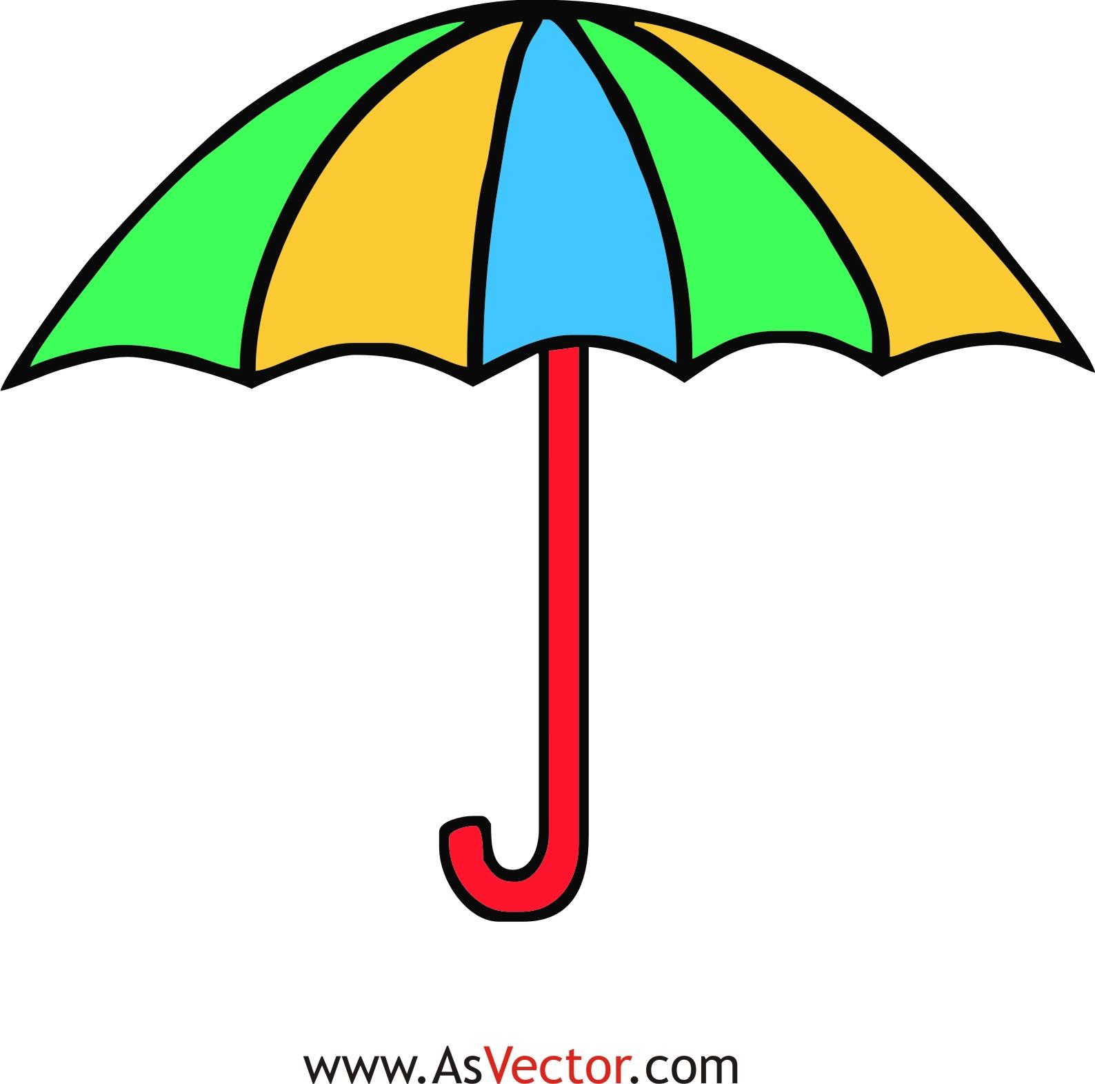 Free umbrella clipart clip art images 2