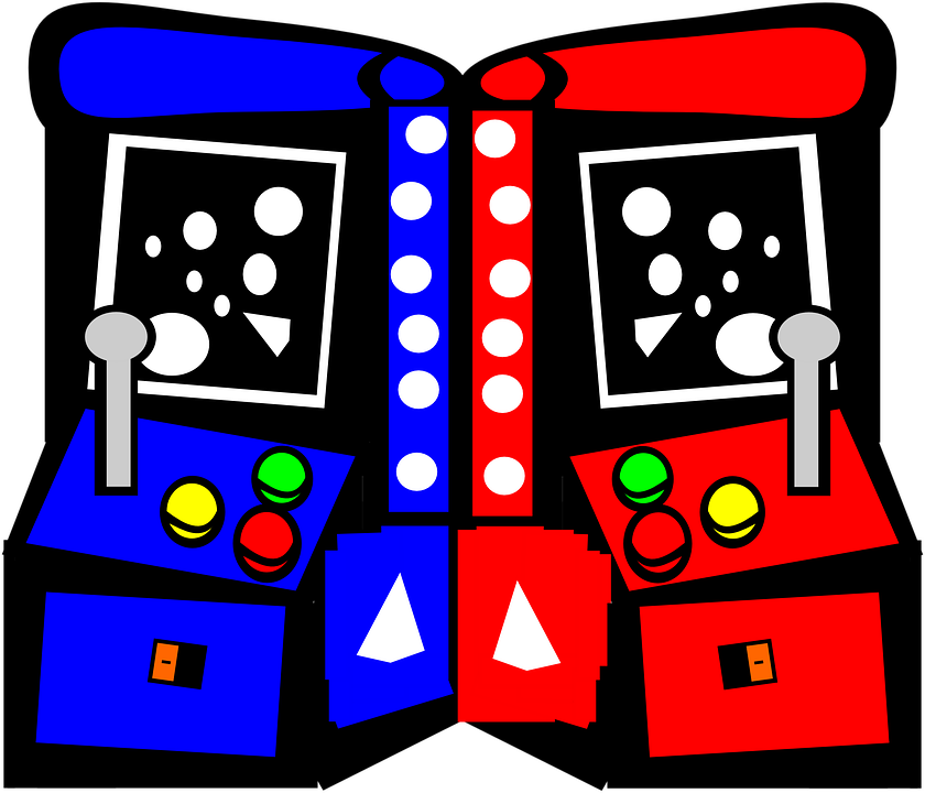 Free vector graphic arcade games video image on clipart