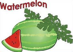 Free watermelon clipart
