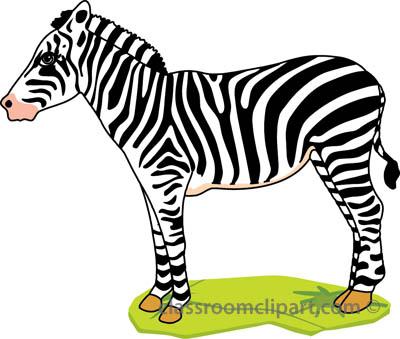 Free zebra clipart clip art pictures graphics illustrations