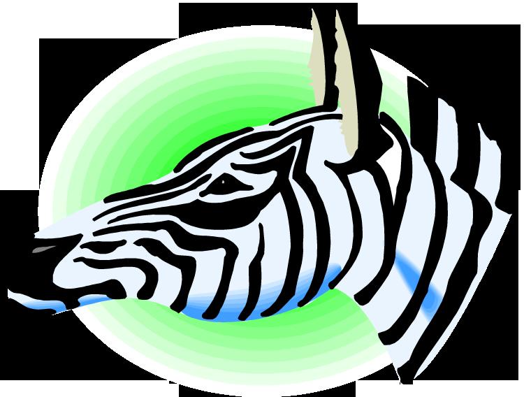 Free zebra clipart