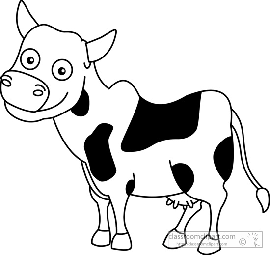 Frog  black and white cow cartoon black and white tree frog clipart