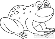 Frog  black and white frog black and white frog clipart clipart