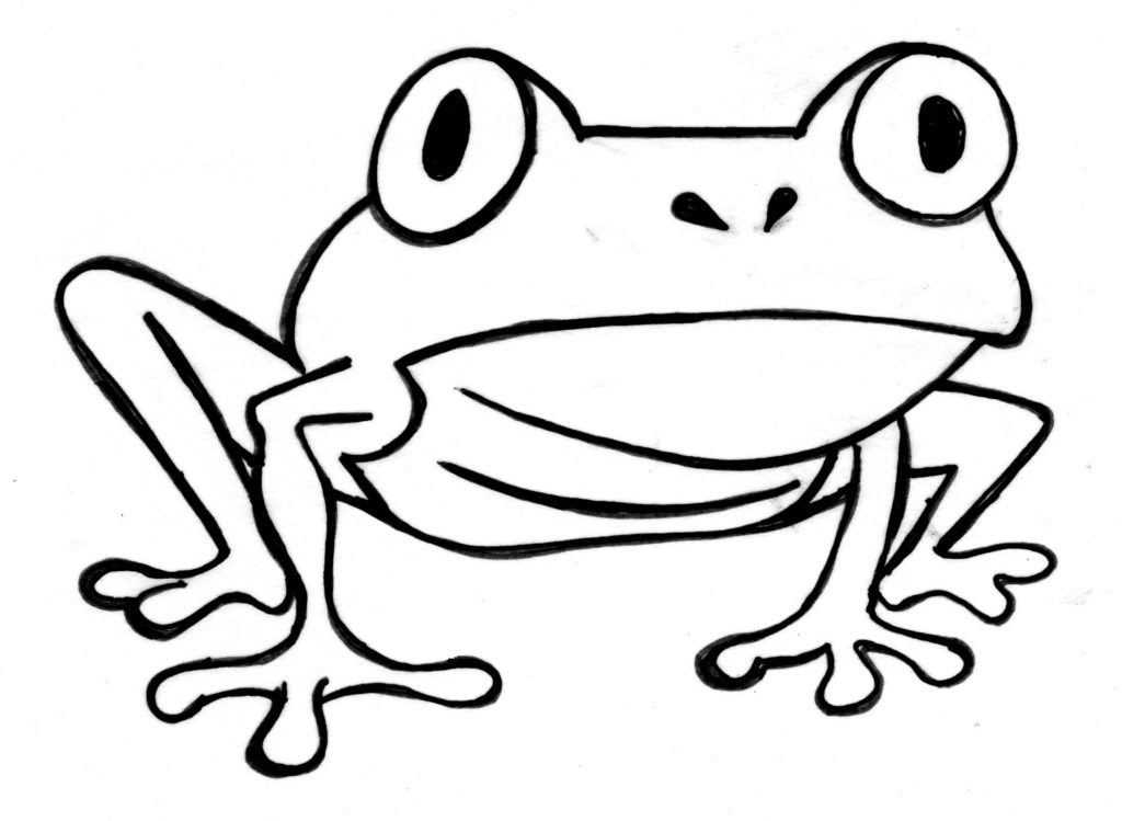 Frog  black and white tree frog clipart images free graphics icons and