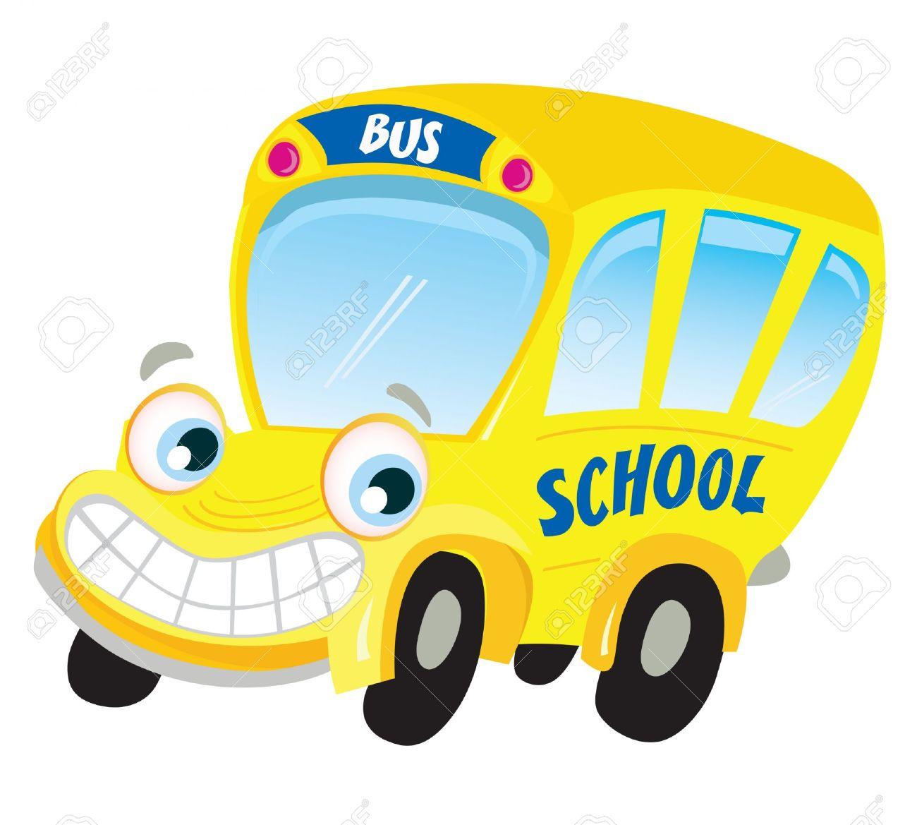 Fun school bus clipart clipart