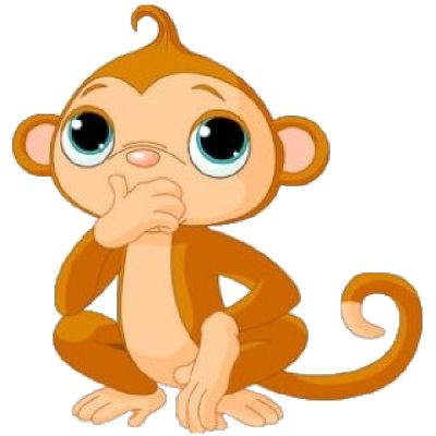 Funny monkey cliparts free download clip art