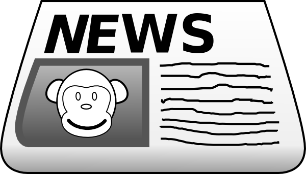 Gallery for newspaper clipart free images