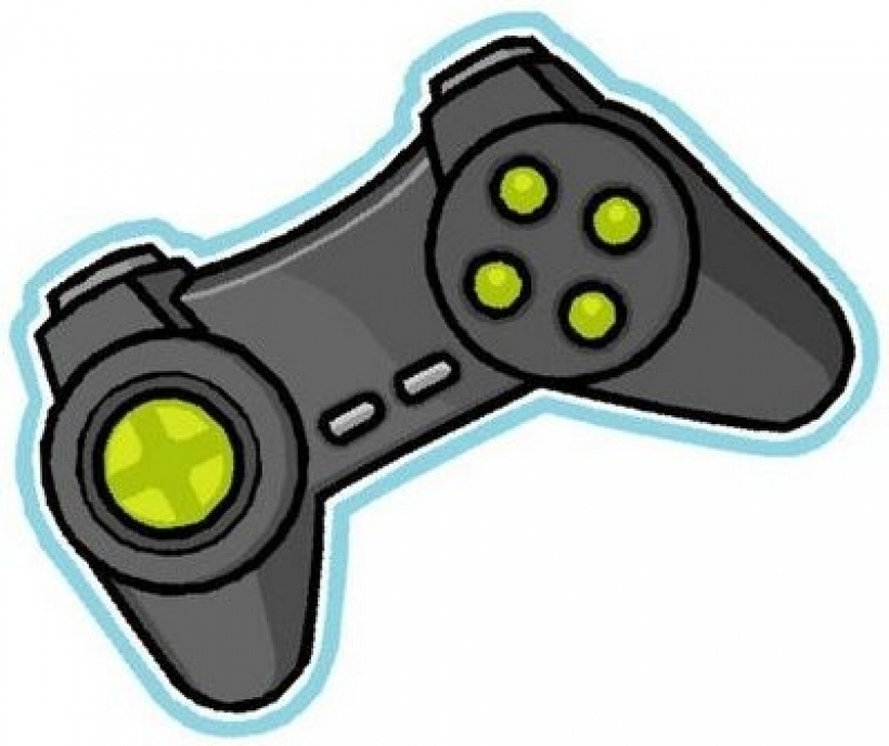 Games clip art free clipart images game console