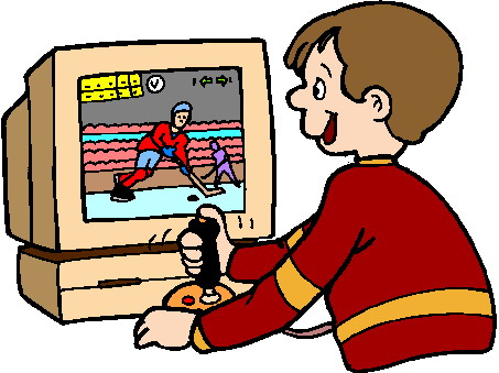 Games computer game clipart