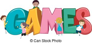 Games game clipart friendly kid pencil and in color game