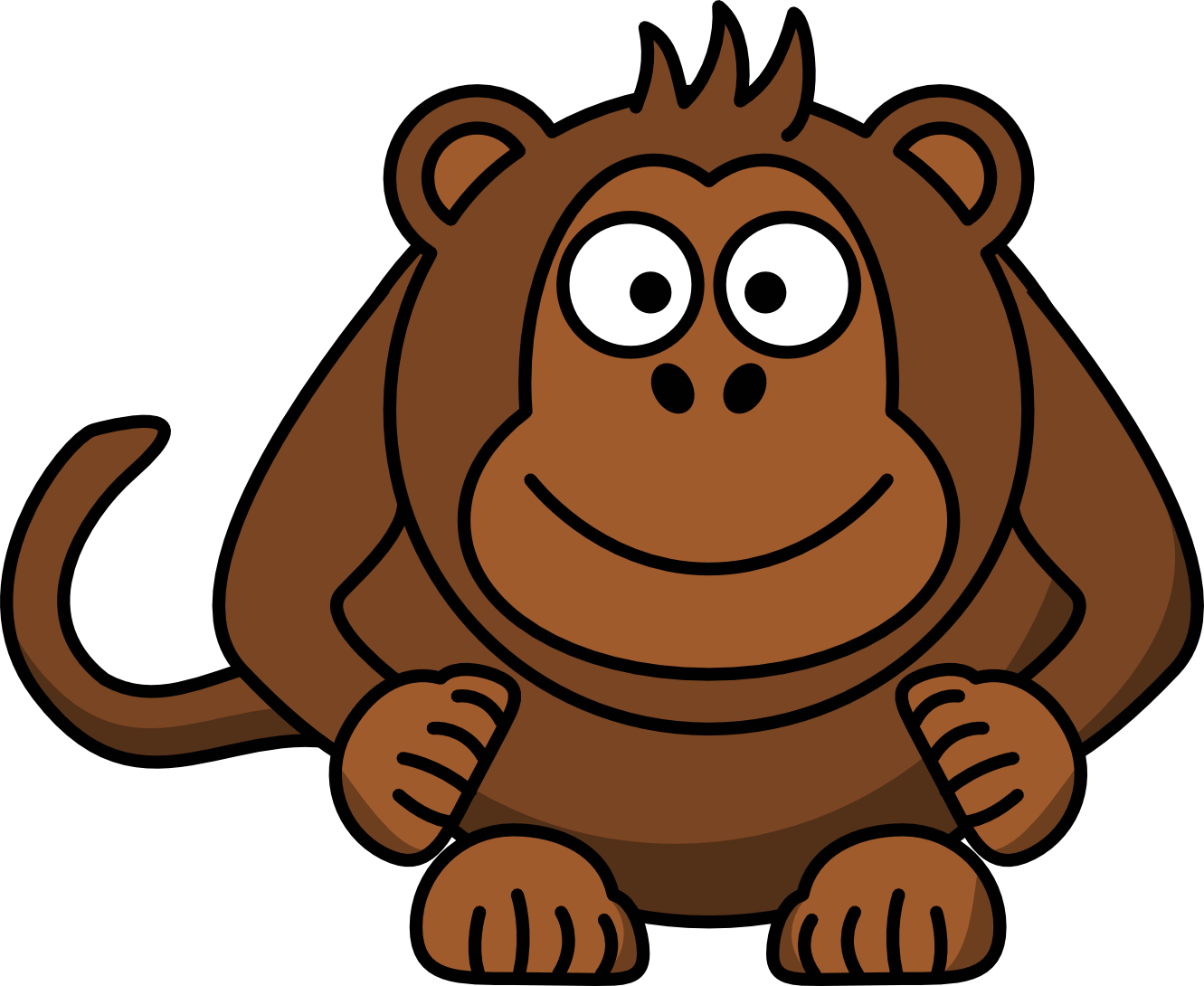 Girly monkey clip art free clipart images clipartpost