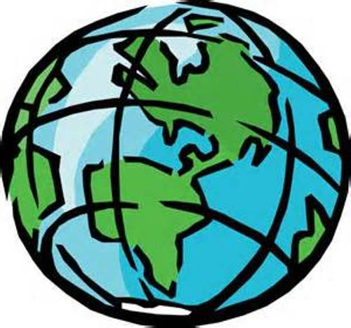 Globe clip art gold free clipart images 3